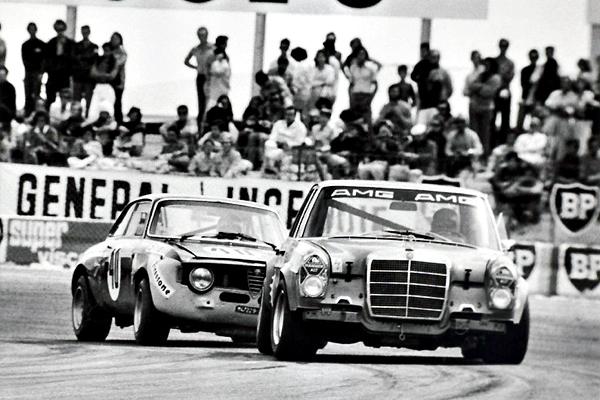 AMG 300 SEL e Alfa Romeo GTA