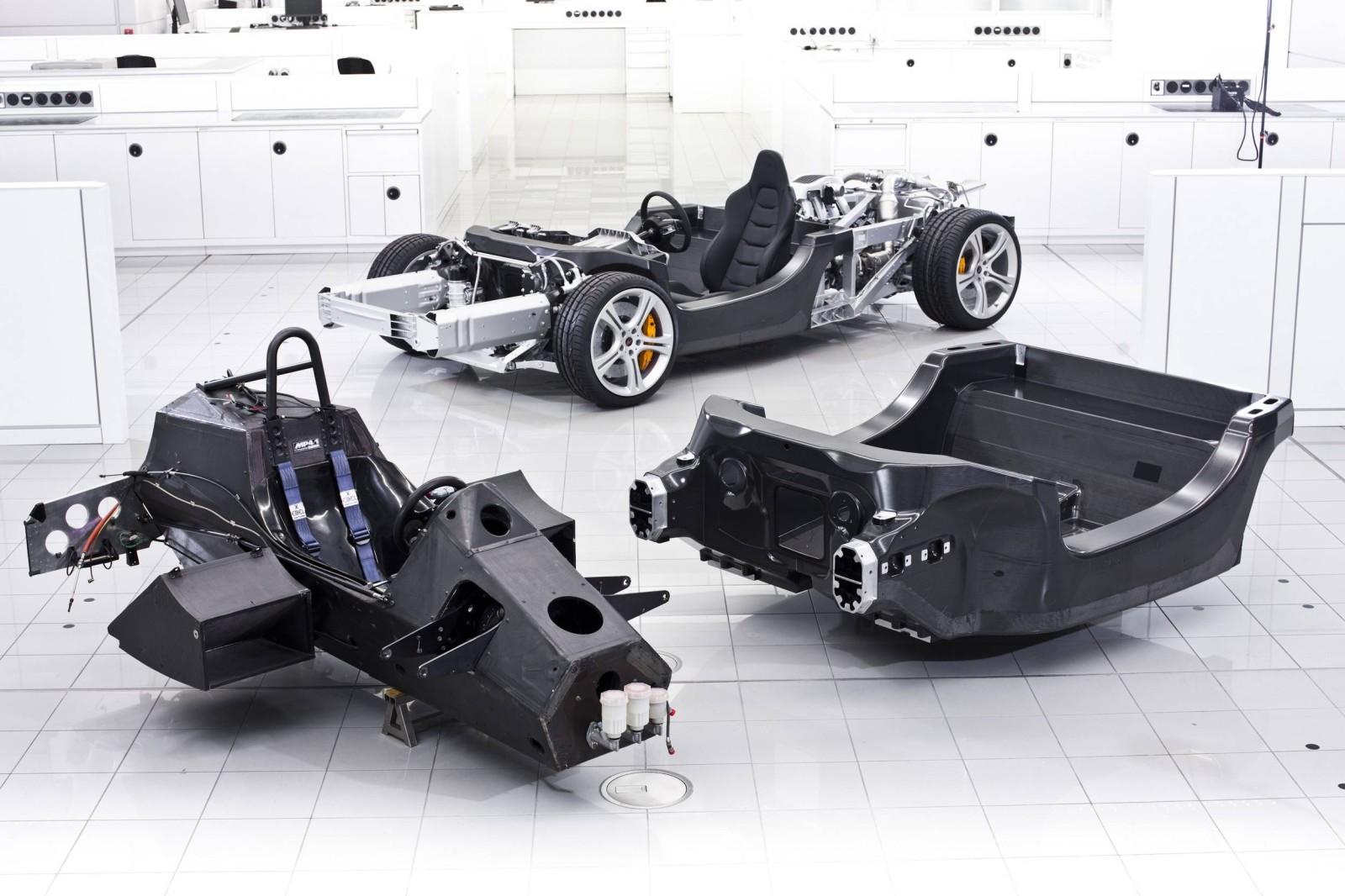 McLaren Monocoque Carbono