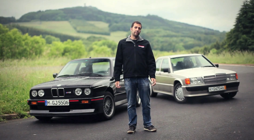 Mercedes-Benz 190E 2.3-16 Vs BMW M3 Sport Evo