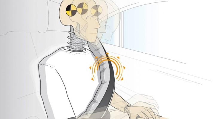 Beltbag, airbag para o cinto de segurança pela Mercedes-Benz
