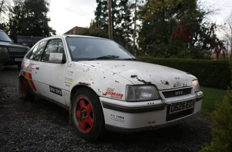 Opel Astra GTE 2.0 8V Rally-car