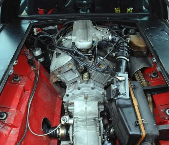 alfa romeo Alfasud Sprint 6C motor