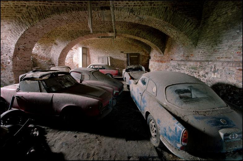 Exploradores Urbanos Descobrem Cole 231 227 O De 171 Alfas Romeos