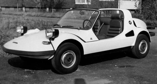 Fiat 500 Zanzara Zagato Hondina