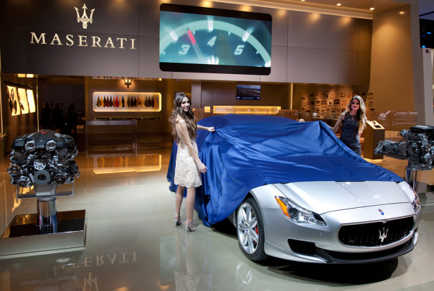 Maserati Quattroporte Detroit 2