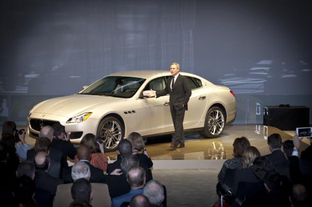 Maserati Quattroporte Detroit 3