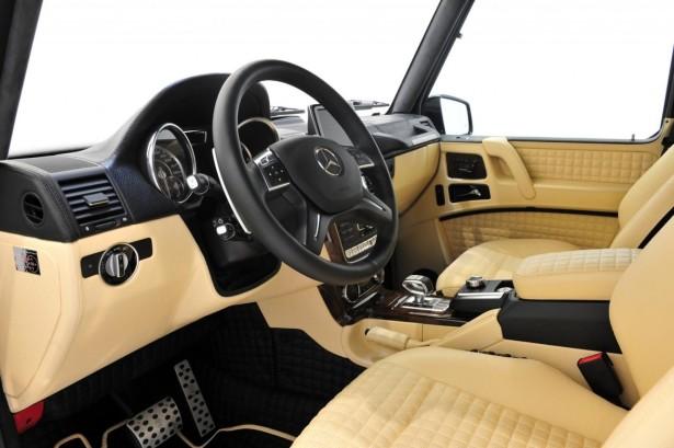 Mercedes Brabus G800 4