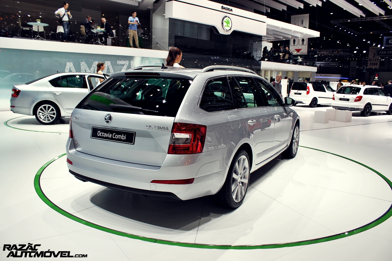 sal o de genebra 2013 skoda octavia break. Black Bedroom Furniture Sets. Home Design Ideas