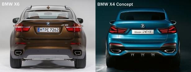 BMW X6 Vs BMW X4 Concept