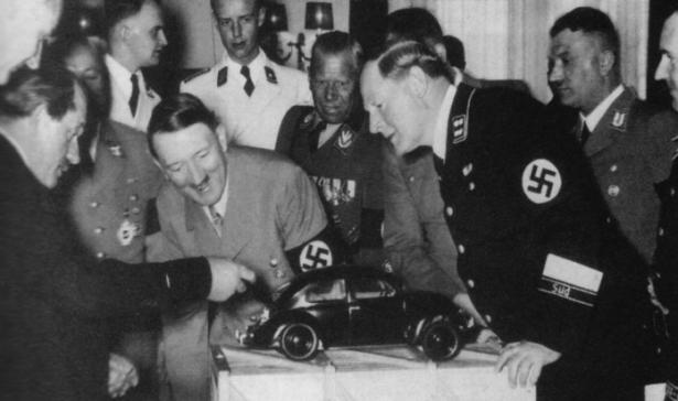 Nazis Volkswagen Carocha