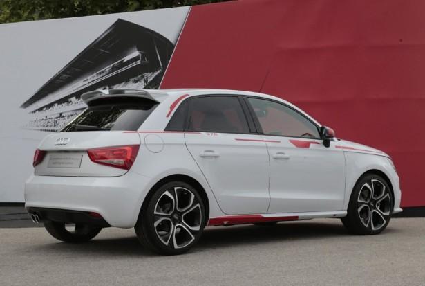 Audi A1 R18 Red Plus