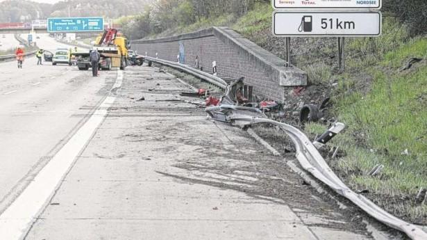f430 scuderia acidente 1