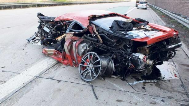 f430 scuderia acidente