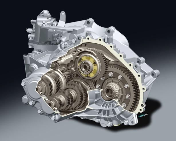 A nova caixa de seis velocidades que irá equipar os modelos Opel com binário intermédio (até 220Nm).