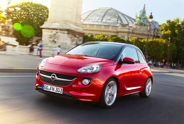 Opel Adam será o primeiro modelo a receber a motorização 1.0 SIDI.