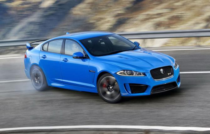 Jaguar XFR-S Drift