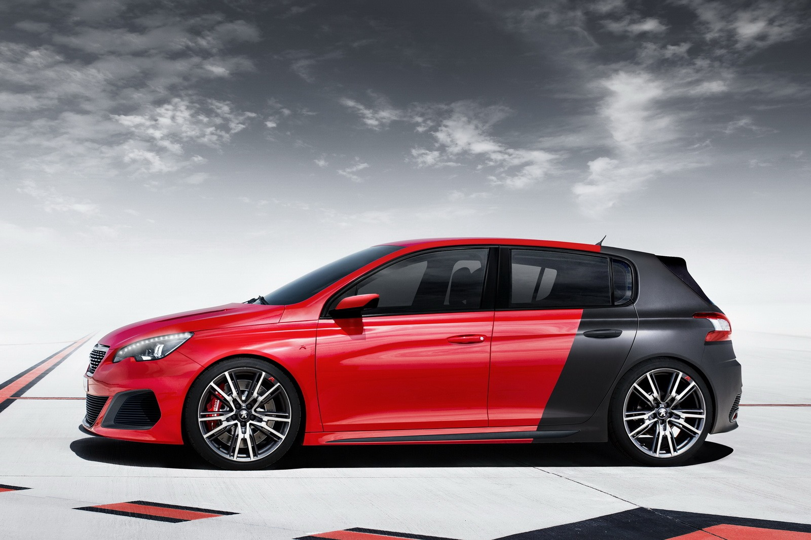 peugeot 308 r um desportivo com muito chilli. Black Bedroom Furniture Sets. Home Design Ideas