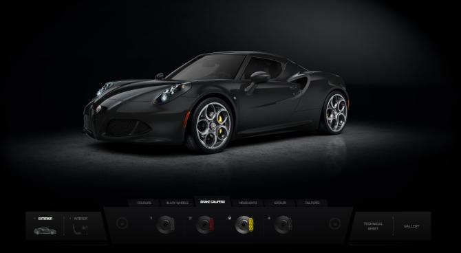 Alfa Romeo 4C - Thom