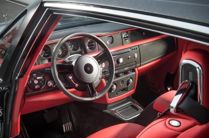 Interior do Rolls Royce Phantom Bespoke Chicane Coupe