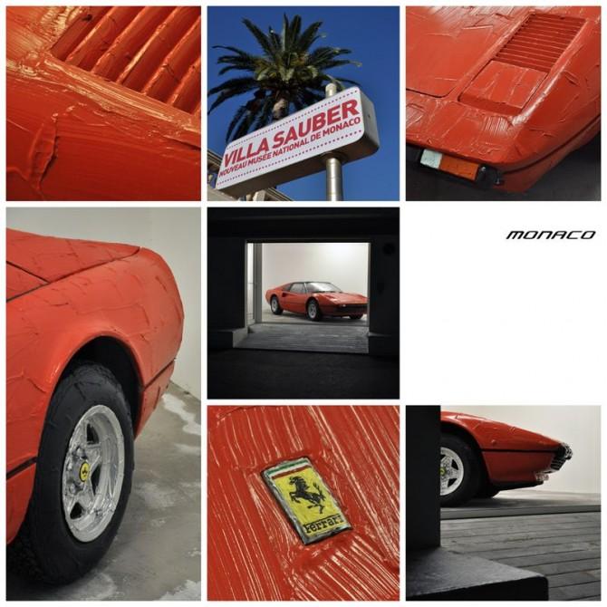 bertrand-lavier-Ferrari-308 GTS-3