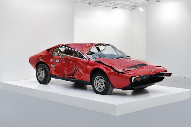 bertrand-lavier-Ferrari-308GT4-3