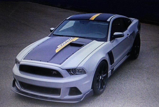 2013 Mustang Switchback