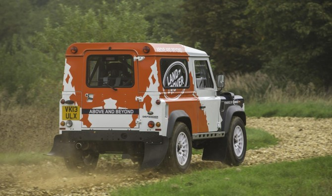 Defender Challenge Rally Series 6