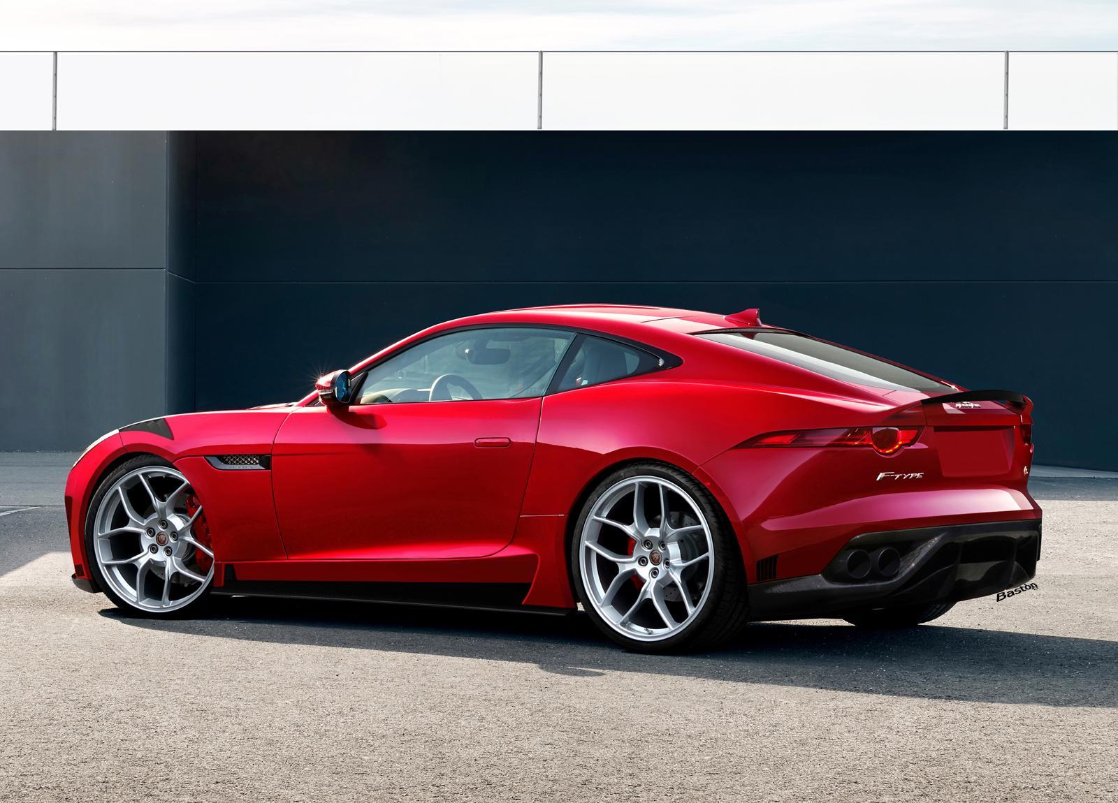 ... O Diretor De Design Da Jaguar, Abriu A Caixa De Surpresas Da Marca Ao  Revelar Que Estão Em Desenvolvimento Versões Mais Potentes Do Jaguar F Type  Coupé.