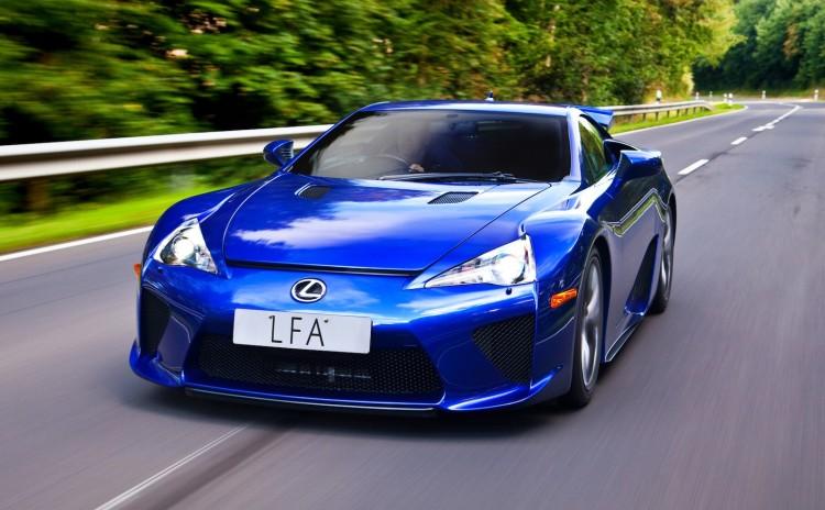 Lexus LFA supercar (overseas model shown)