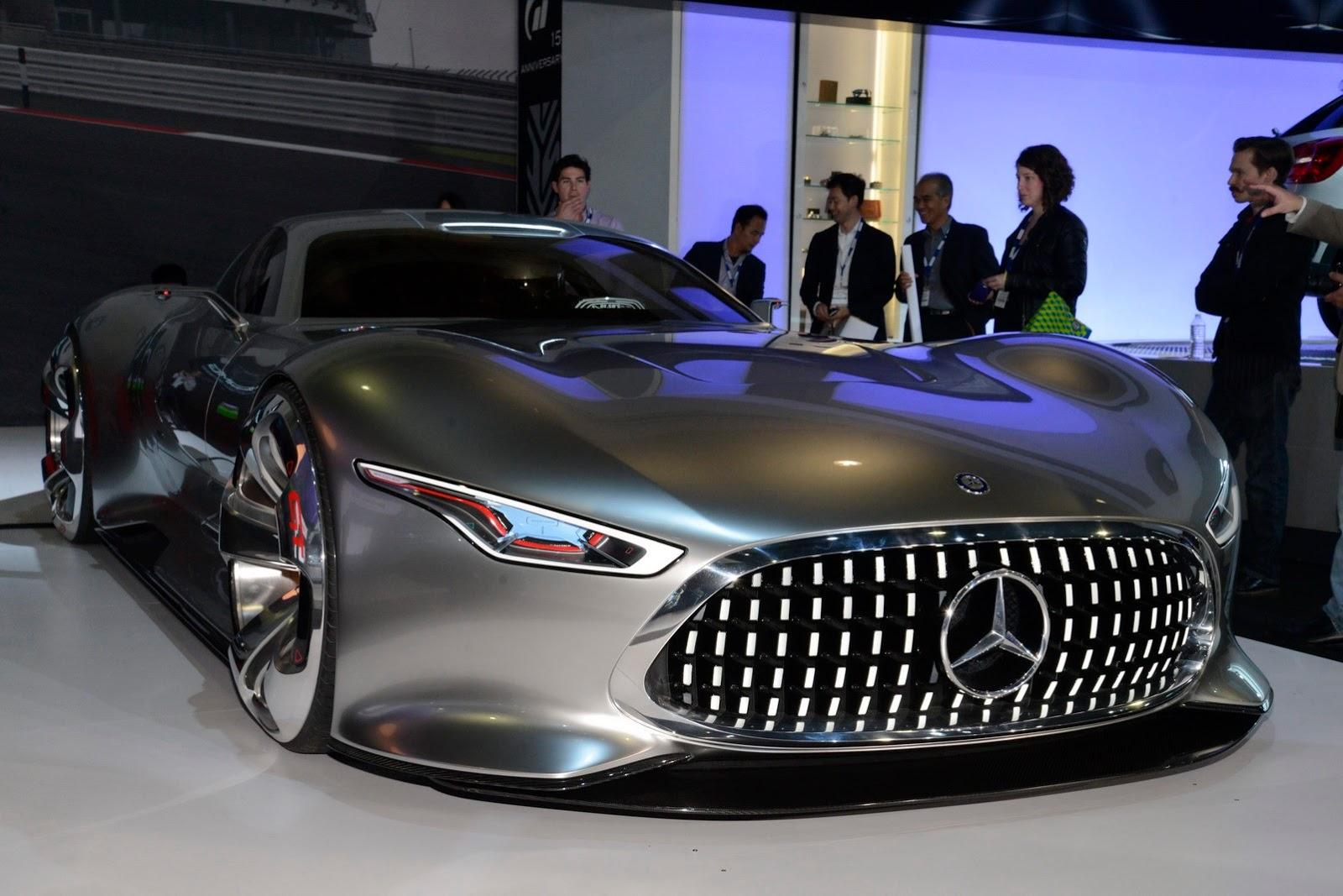 Mercedes Amg Vision Gran Turismo Do Mundo Virtual Para O