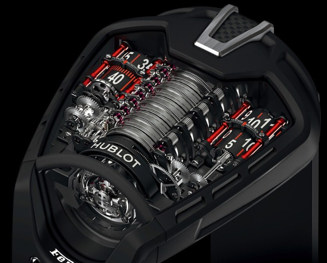 laferrari de pulso hublot mp 05. Black Bedroom Furniture Sets. Home Design Ideas