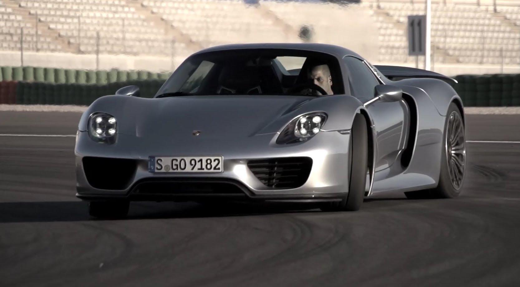 Chris Harris Em Tira Teimas Com Porsche 918