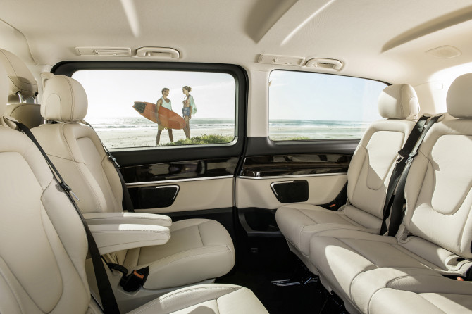 Nova Mercedes-Benz Classe V
