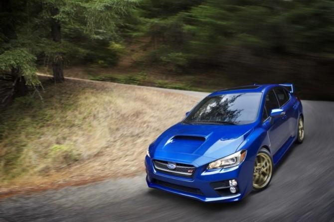 Subaru WRX STI 8