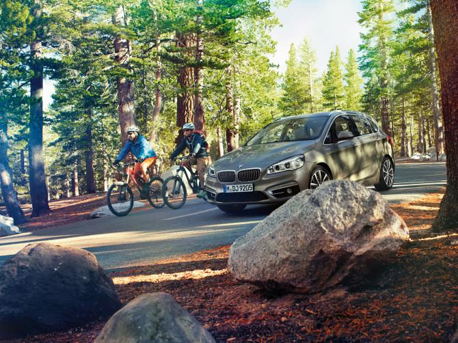 BMW Série 2 Active Tourer Bike
