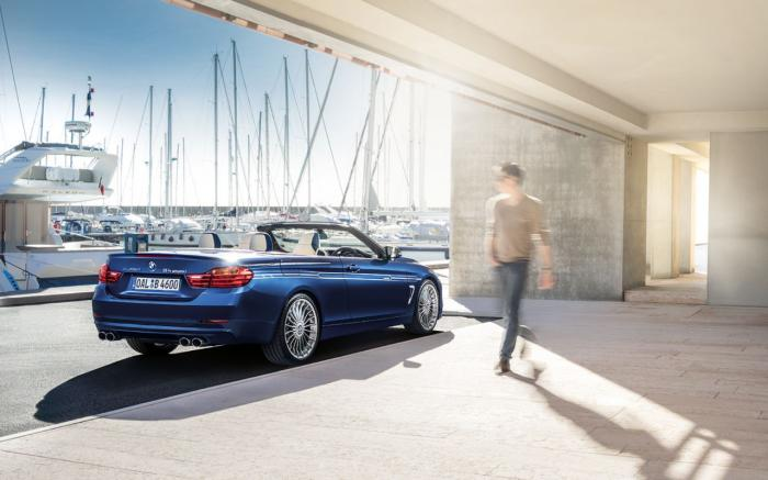 BMW Alpina B4 Bi-Turbo Cabriolet 1