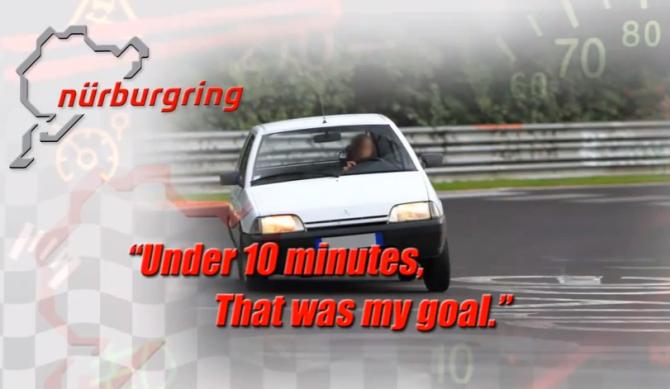 Citröen AX 1.4 TRD Nürburgring