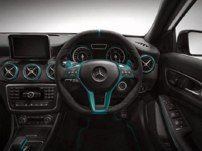 Mercedes A45 AMG Petronas Green Edition