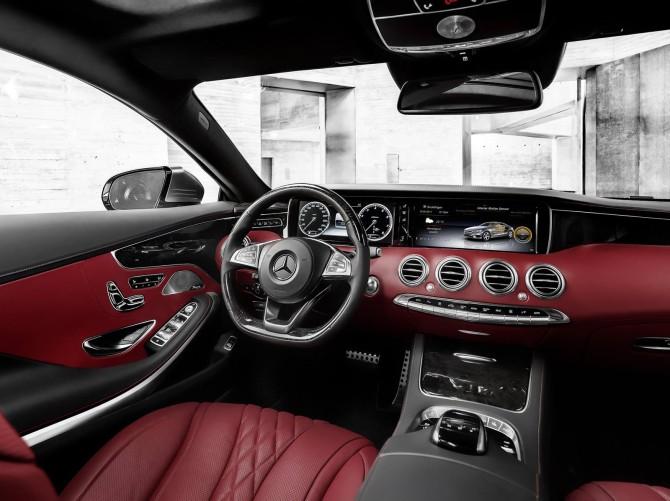 Mercedes Classe S Coupé 7
