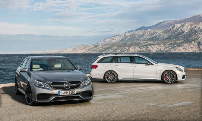 Mercedes E63 AMG S e CLS63 AMG S