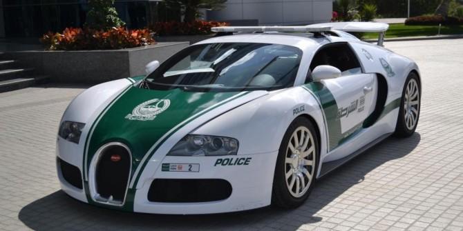 Polícia do Dubai_Bugatti Veyron