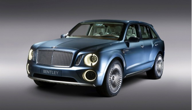 Bentley Exp 9 F Concept de 2012