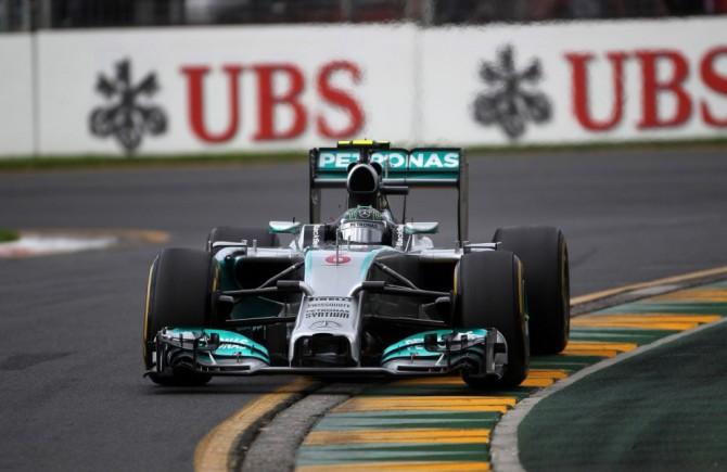 16.03.2014- Race, Nico Rosberg (GER) Mercedes AMG F1 W05