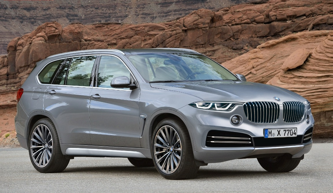 ... foi o anúncio da produção de um novo SUV de luxo, o BMW X7