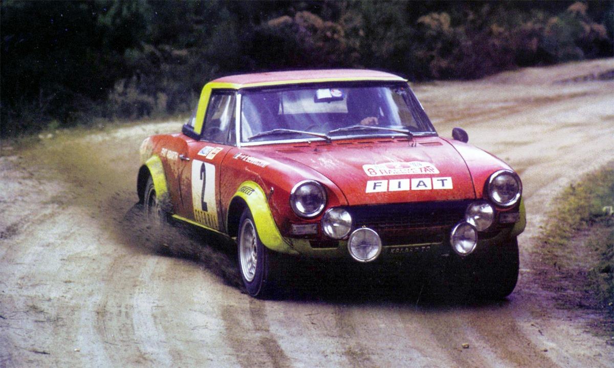 Rallye de Portugal, 1974 — Fiat 124 Abarth