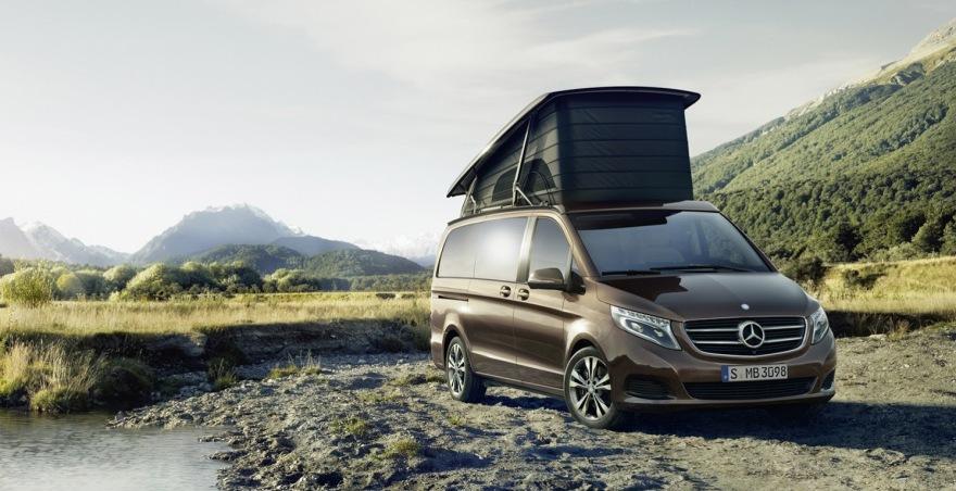 Mercedes classe v marco polo aventura em conforto e luxo for Mercedes benz aventura