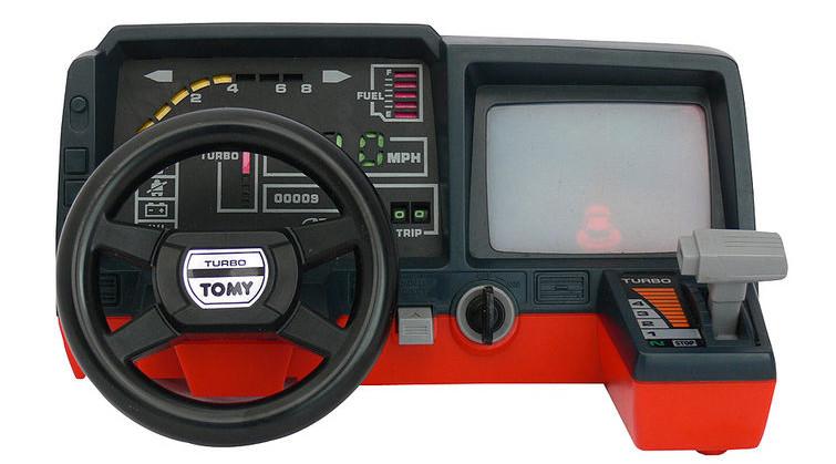 Tomy Racing Cockpit O Melhor Brinquedo Dos Anos 80