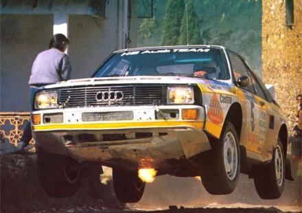1985 Rohrl 1985 Portugal Audi