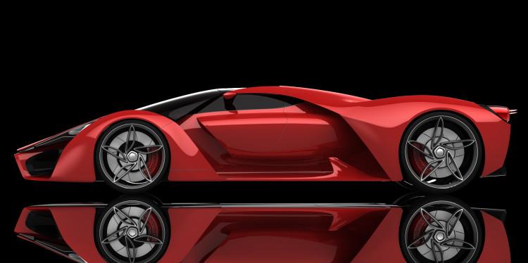 Ferrari F80 design concept