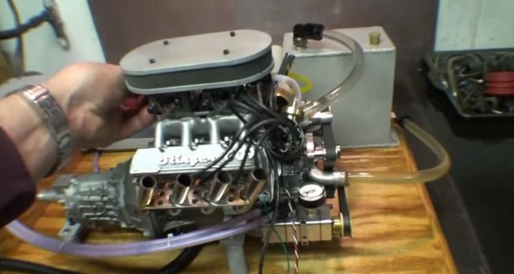 V8 ENGINE SMALL BLOCK STINGER